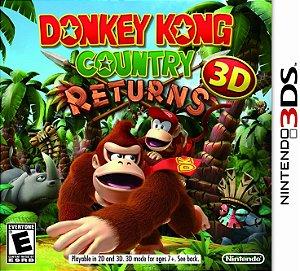 Jogo Nintendo 3DS Usado Donkey Kong Country Returns 3D