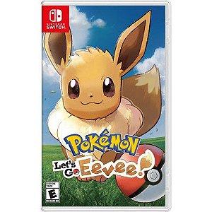 Jogo Nintendo Switch Usado Pokémon Let's Go Eevee