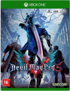 Jogo XBOX ONE Novo Devil May Cry 5