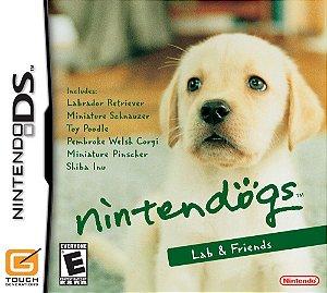 Jogo Nintendo DS Usado Nintendogs Lab & Friends