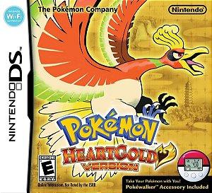 Jogo Nintendo DS Usado Pokémon Heart Gold