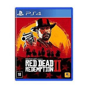 Jogo PS4 Novo Red Dead Redemption II