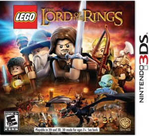 Jogo Nintendo 3DS Usado LEGO The Lord of the Rings