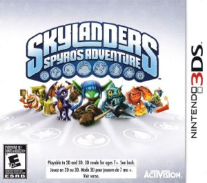 Jogo Nintendo 3DS Usado Skylanders Spyro's Adventure