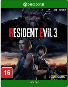 Jogo XBOX ONE Novo Resident Evil 3
