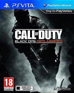 Jogo PSVITA Usado Call Of Duty Black Ops: Declassified