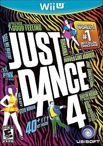 Jogo Nintendo WiiU Usado Just Dance 4