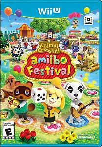 Jogo Nintendo WiiU Usado Animal Crossing Amiibo Festival