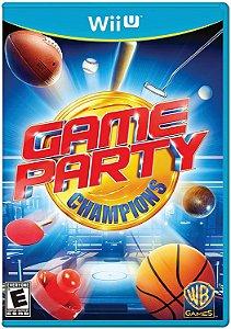Jogo Nintendo WiiU Usado Game Party Champions