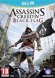 Jogo Nintendo WiiU Usado Assassin's Creed IV Blackflag