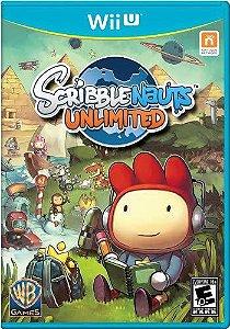 Jogo Nintendo WiiU Usado Scribblenauts Unlimited