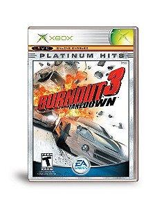 Jogo XBOX Usado Burnout 3 Takedown