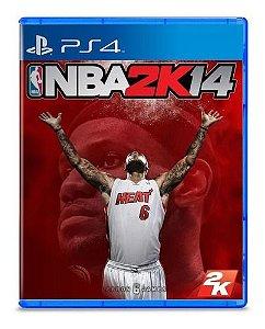 Jogo PS4 Usado NBA 2K14