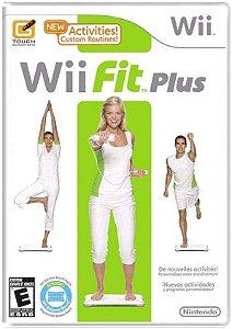 Jogo Nintendo Wii Usado Wii Fit Plus