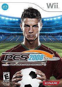 Jogo Nintendo Wii Usado PES 2008