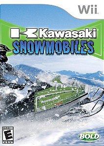 Jogo Nintendo Wii Usado Kawasaki Snowmobiles