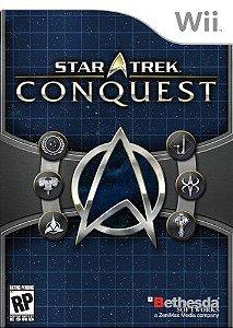 Jogo Nintendo Wii Usado Star Trek Conquest
