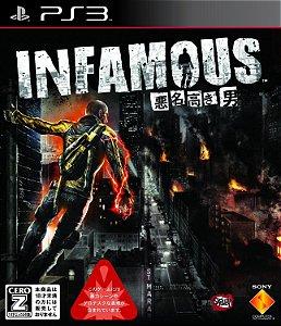Jogo PS3 Usado Infamous (JP)