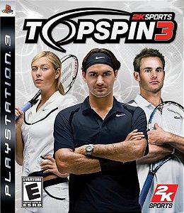 Jogo PS3 Usado Top Spin 3