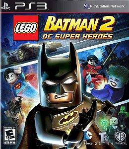 Jogo PS3 Usado LEGO Batman 2 DC Super Heroes