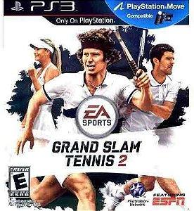 Jogo PS3 Usado Grand Slam Tennis 2