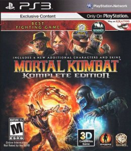 Jogo PS3 Usado Mortal Kombat Komplete Edition