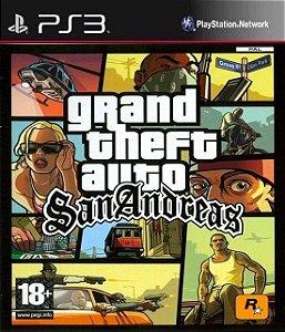 Jogo PS3 Usado Grand Theft Auto San Andreas