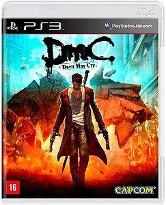 Jogo PS3 Usado DMC Devil May Cry