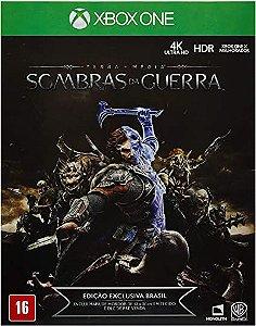 Jogo XBOX ONE Usado Terra Média Sombras da Guerra
