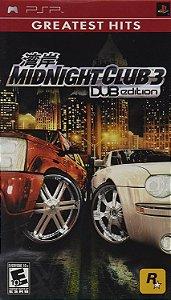 Jogo PSP Usado Midnight Club 3: DUB Edition