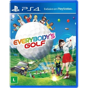 Jogo PS4 Novo Everybody's Golf