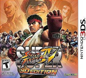 Jogo 3DS Usado Super Street Fighter IV 3D Edition