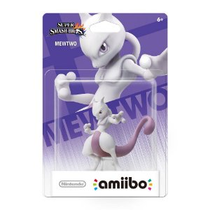 Amiibo Novo Mewtwo Super Smash Bros