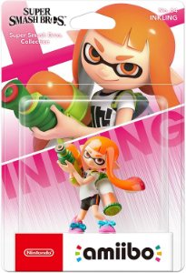 Amiibo Novo Inkling Girl Splatoon