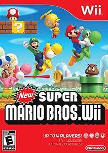 Jogo Wii Usado New Super Mario .Wii