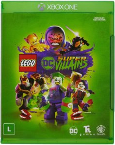 Jogo XBOX ONE Novo LEGO DC Super Villains