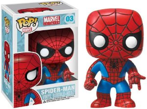Pop Funko 03 Spider-Man Marvel Universe
