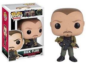 Pop Funko 99 Rick Flag Suicide Squad