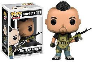 """Pop Funko 143 John """"Soap"""" MacTavish Call of Duty"""