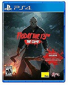 Jogo PS4 Usado Friday the 13th The Game