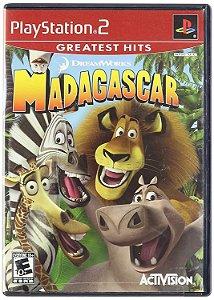 Jogo PS2 Usado Madagascar