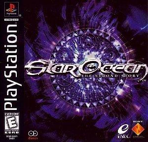 Jogo PS1 Usado Star Ocean: The Second Story