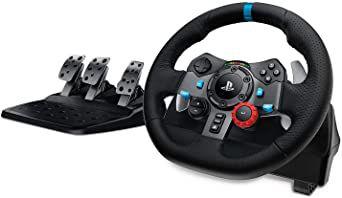 Acessório PS4 Usado Volante Logitech G29
