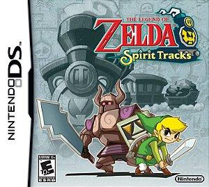 Jogo NDS Novo The Legend of Zelda Spirit Tracks