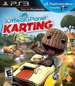 Jogo PS3 Usado Little Big Planet Karting