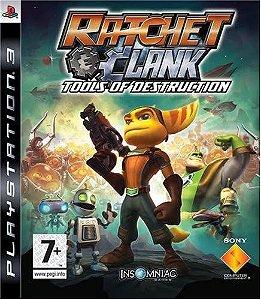 Jogo PS3 Usado Ratchet and Clank: Tools of Destruction
