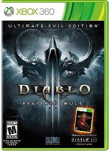 Jogo XBOX 360 Usado Diablo III Reaper Of Souls Ultimate Evil Edition