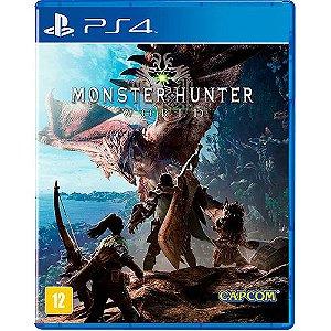 Jogo PS4 Novo Monster Hunter World