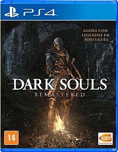Jogo PS4 Novo Dark Souls Remastered