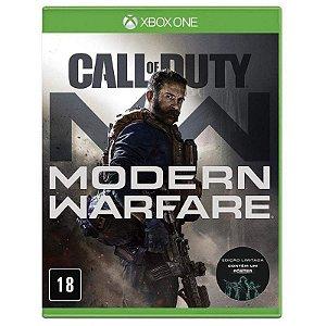 Jogo XBOX ONE Usado Call of Duty Modern Warfare